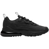 Chaussures Enfant Baskets basses Nike Air Max 270 React Noir