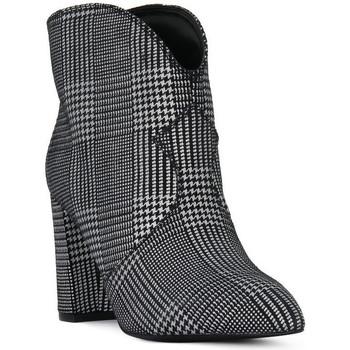 Chaussures Femme Bottines Café Noir CAFE ' NOIR TRONCHETTO Nero