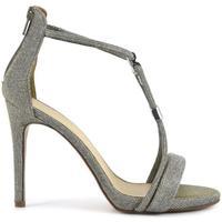 Chaussures Femme Sandales et Nu-pieds Café Noir MNB994 E17.204 ARGENTO