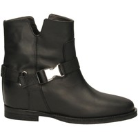 Chaussures Femme Bottines Via Roma 15 SPACCO GANCIO ZAINO nero