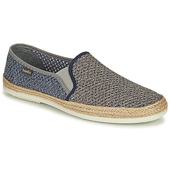 Chaussures Homme Espadrilles Bamba By Victoria ANDRE ELASTICO BICOLOR Gris