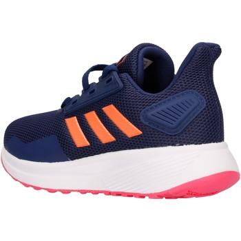 Chaussures Garçon Baskets basses adidas Originals - Duramo 9 blu EE6923 PS BLU