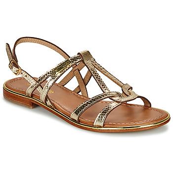 Chaussures Femme Sandales et Nu-pieds Les Tropéziennes par M Belarbi HACKLE Or
