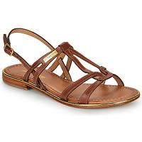 Chaussures Femme Sandales et Nu-pieds Les Tropéziennes par M Belarbi HACKLE Tan