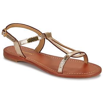 Chaussures Femme Sandales et Nu-pieds Les Tropéziennes par M Belarbi HAMAT Or / Serpent