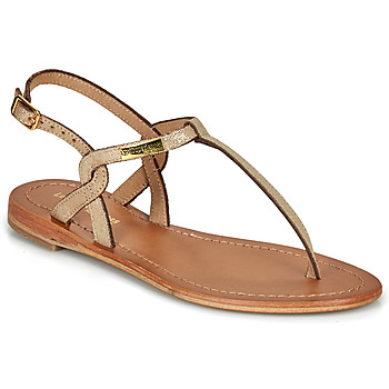 Chaussures Femme Sandales et Nu-pieds Les Tropéziennes par M Belarbi BILLY Or irisé