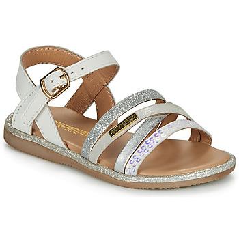 Chaussures Fille Sandales et Nu-pieds Les Tropéziennes par M Belarbi INAYA Blanc