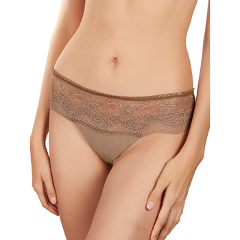 Sous-vêtements Femme Shorties & boxers Selmark Shorty string Camille Marron