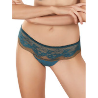 Sous-vêtements Femme Shorties & boxers Selmark Shorty string Camille Vert