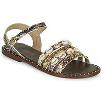 Chaussures Femme Sandales et Nu-pieds Café Noir MIRADO Marron