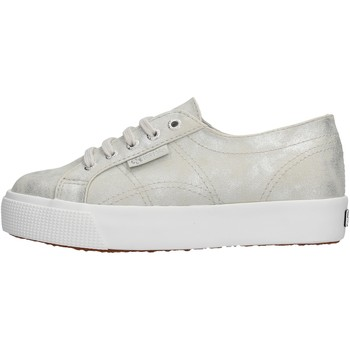 Chaussures Garçon Baskets basses Superga - Sneaker argento S00FPE0 2730 972 ARGENTO