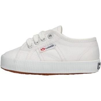 Chaussures Garçon Baskets basses Superga - Sneaker bianco S00CCN0 2750 900 BIANCO