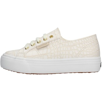 Chaussures Fille Baskets basses Superga - Sneaker bianco S00FPG0 2790 900 ARGENTO