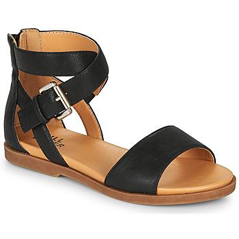 Chaussures Fille Sandales et Nu-pieds Bullboxer MELISSA Noir