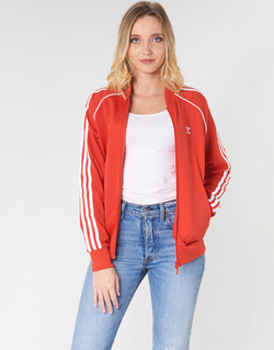 Vêtements Femme Vestes de survêtement adidas Originals SS TT Rouge luxuriant