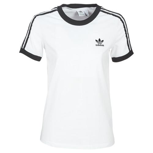 Vêtements Femme T-shirts manches courtes adidas Originals 3 STR TEE Blanc