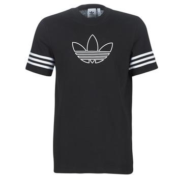 Vêtements Homme T-shirts manches courtes adidas Originals OUTLINE TEE Noir