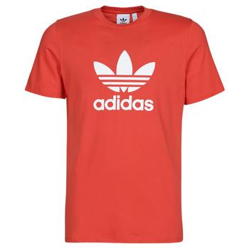 Vêtements Homme T-shirts manches courtes adidas Originals TREFOIL T-SHIRT Rouge luxuriant