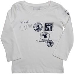 Vêtements Enfant T-shirts & Polos Interdit De Me Gronder TRAVEL Ecru