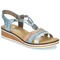 Chaussures Femme Sandales et Nu-pieds Rieker LAKTOS bleu