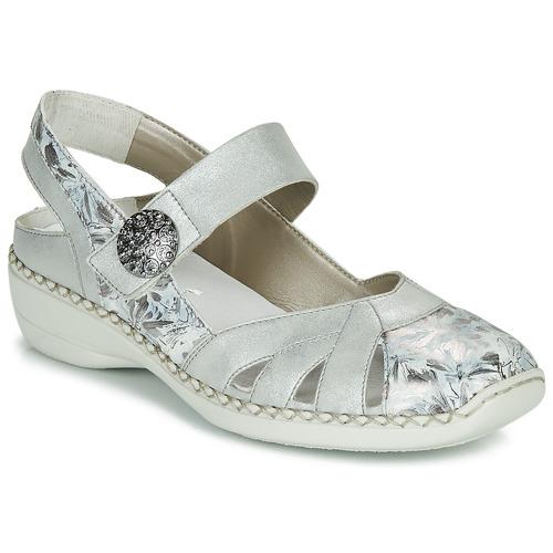Chaussures Femme Sandales et Nu-pieds Rieker KYLIAN Argenté