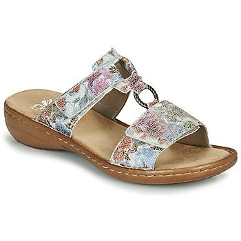 Chaussures Femme Mules Rieker MOLA Multicolor