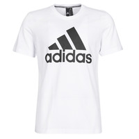 Vêtements Homme T-shirts manches courtes adidas Performance MH BOS Tee Blanc