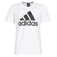 Vêtements Homme T-shirts manches courtes adidas Performance MH BOS Tee Blanc