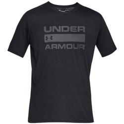Vêtements Homme T-shirts manches courtes Under Armour Team Issue Wordmark Noir