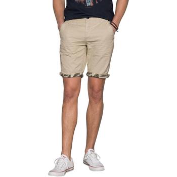 Vêtements Homme Shorts / Bermudas Deeluxe Short FLICKSON Beige