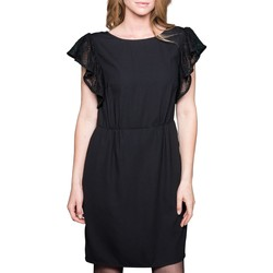 Vêtements Femme Robes courtes Deeluxe Robe DONA Black