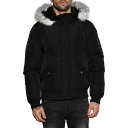 Vêtements Homme Parkas Deeluxe Parka SHARK Black