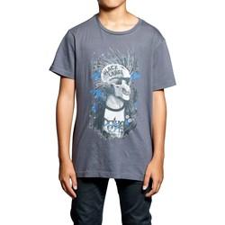 Vêtements Garçon T-shirts manches courtes Deeluxe T-Shirt ENFIELD Granite