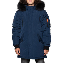 Vêtements Garçon Parkas Deeluxe Parka SHARKSON Midnight