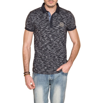 Vêtements Homme Polos manches courtes Deeluxe Polo MOVING Navy