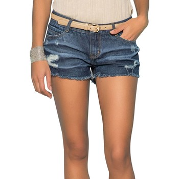 Vêtements Femme Shorts / Bermudas Deeluxe Short LOVA Blue