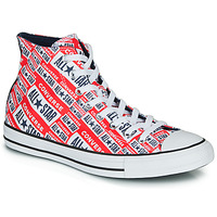 Chaussures Homme Baskets montantes Converse Chuck Taylor All Star Logo Play Rouge / Multi