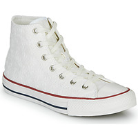 Chaussures Fille Baskets montantes Converse CHUCK TAYLOR ALL STAR LITTLE MISS CHUCK Blanc