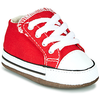 Chaussures Enfant Baskets montantes Converse CHUCK TAYLOR ALL STAR CRIBSTER CANVAS COLOR Rouge