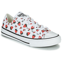 Chaussures Enfant Baskets basses Converse CHUCK TAYLOR ALL STAR SPRING FRUITS Blanc / Rouge