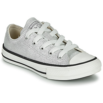 Chaussures Enfant Baskets basses Converse CHUCK TAYLOR ALL STAR SUMMER SPARKLE Gris