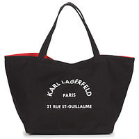 Sacs Femme Cabas / Sacs shopping Karl Lagerfeld RUE ST GUILLAUE CANVAS TOTE Noir