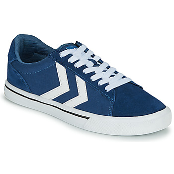 Chaussures Baskets basses Hummel NILE CANVAS LOW Bleu