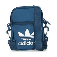 Sacs Pochettes / Sacoches adidas Originals FEST BAG TREF bleu marine nuit