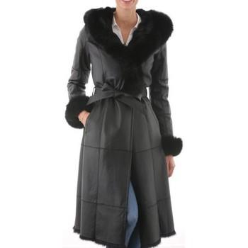 Vêtements Femme Trenchs Intuitions Paris Elisabeth Noir Noir