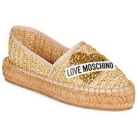 Chaussures Femme Espadrilles Love Moschino  Beige