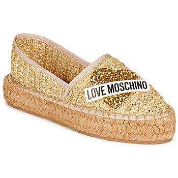 Chaussures Femme Espadrilles Love Moschino JA10393G0A Beige