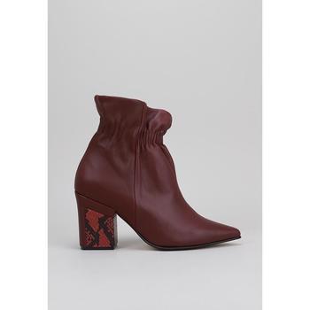 Chaussures Femme Bottines Roberto Torretta SANDRA rouge