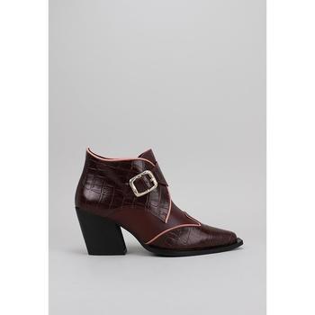 Chaussures Femme Bottines Roberto Torretta MICAELA rouge
