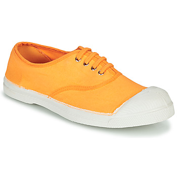 Chaussures Femme Baskets basses Bensimon TENNIS LACET Orange